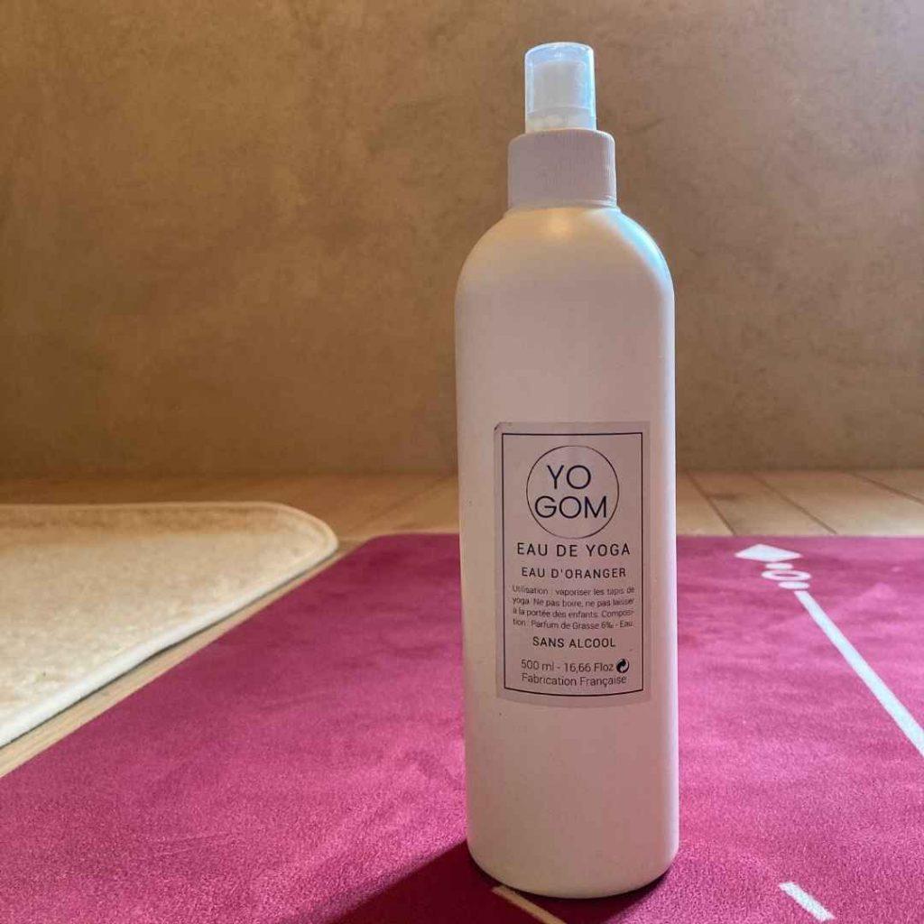 Spray nettoyant tapis de yoga fleur oranger 250ml