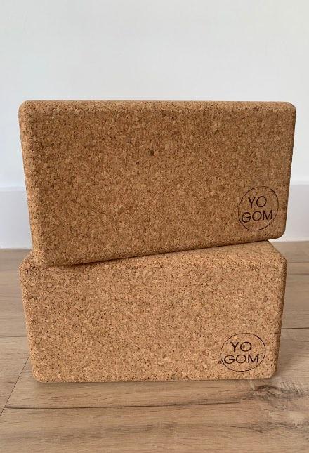 briques de yoga en liège yogom fabriquées au Portugal