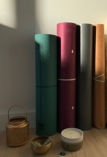 tapis de yoga antidérapant Yogom