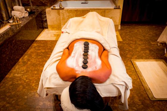 lithothérapie et massage au pierres chaudes