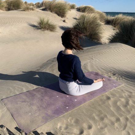 tapis de yoga anti dérapant performance cosmos