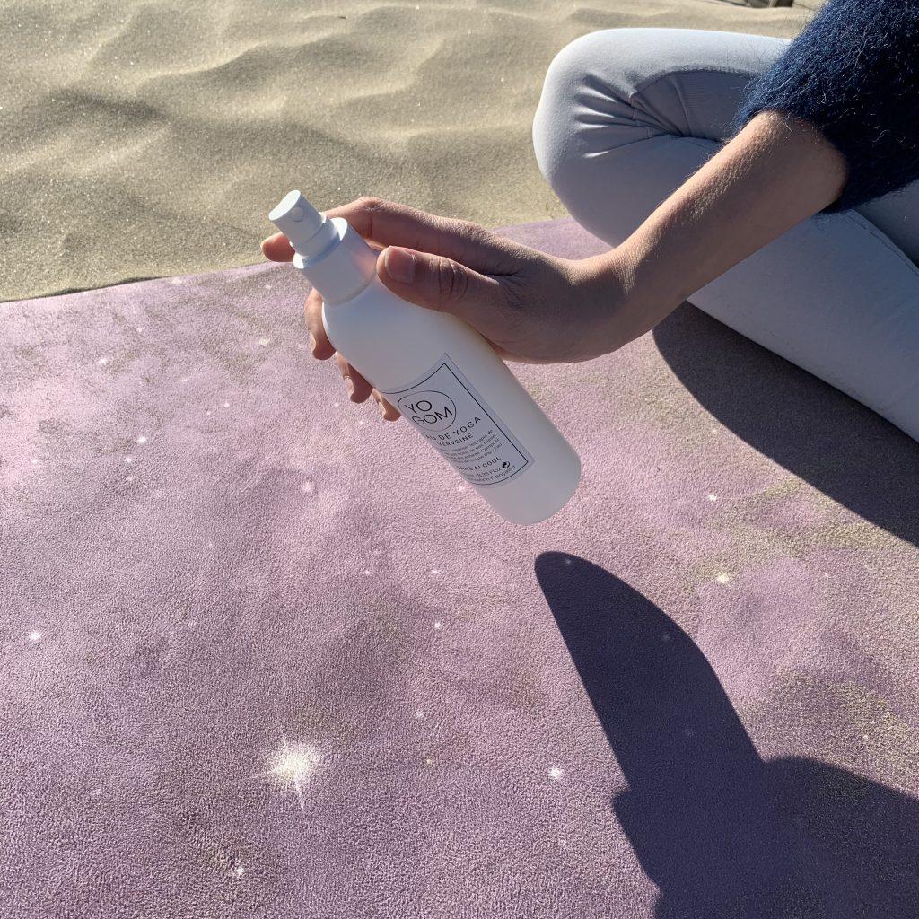 Spray nettoyant pour tapis de yoga Yogom