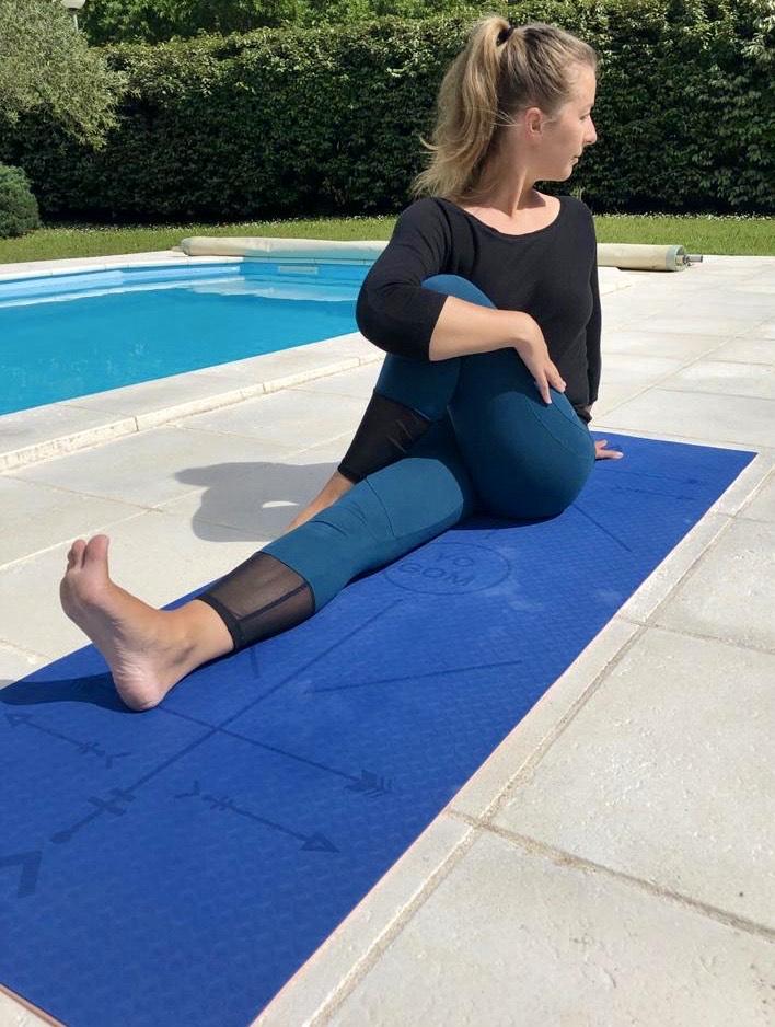 tapis de yoga anti-dérapant bodyline yogom