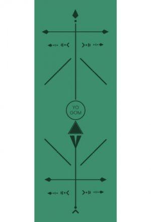 tapis de yoga pro bodyline vert