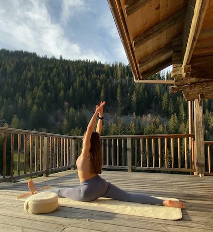 Crédit photos : @Yoga.Mountains
