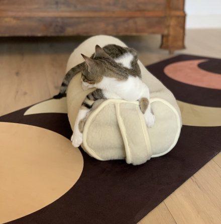 le bolster yogom en laine de mérinos
