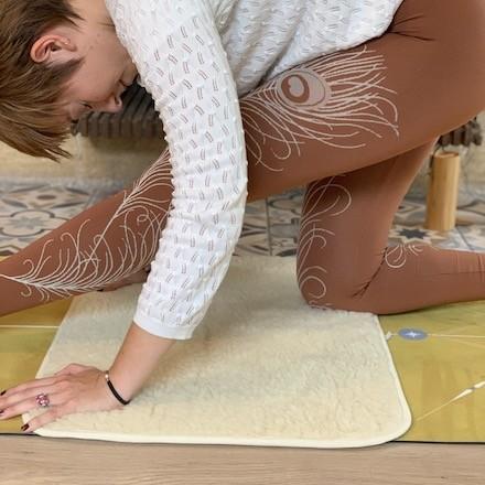 pad genoux yoga yogom