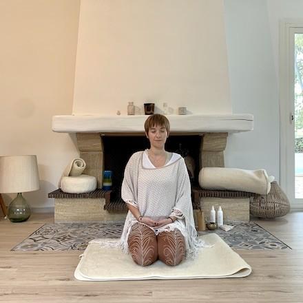 tapis de yoga naturel kundalini yogom certifié oeko-tex et fabriqué en europe