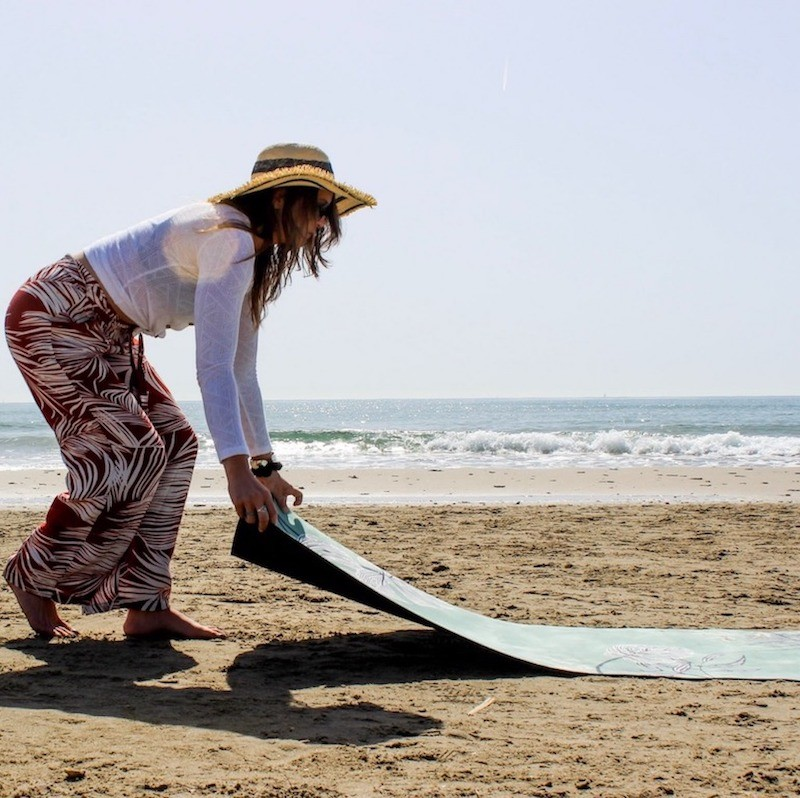 Tapis de yoga anti-dérapant performance Yogom x Marion orn