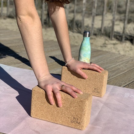brique de yoga liège Yogom