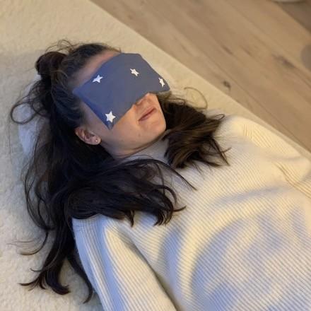 Masque de relaxation pour les yeux en épeautre naturel