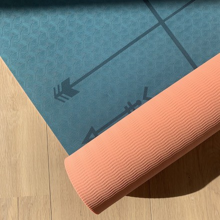 tapis de yoga Yomad Mukti Yogom réversible