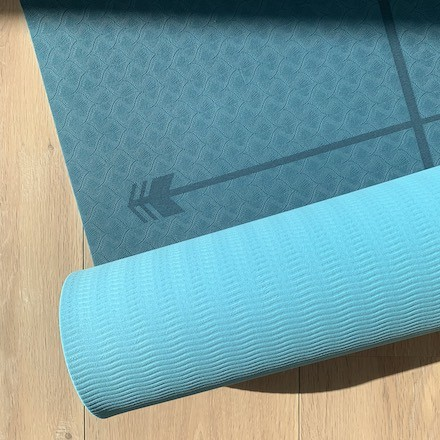 tapis de yoga Yomad Yogi anti-dérapant confortable bodyline réversible