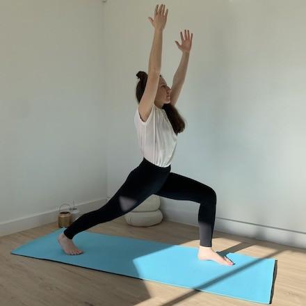 tapis de yoga Yomad Satman Yogom anti-dérapant confortable réversible bodyline