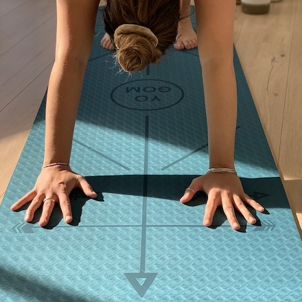 tapis de yoga Yomad Mukti bodyline Yogom réversible