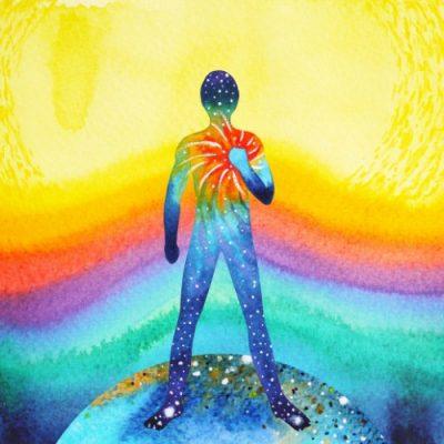 reliance à l'Univers philosophie du yoga