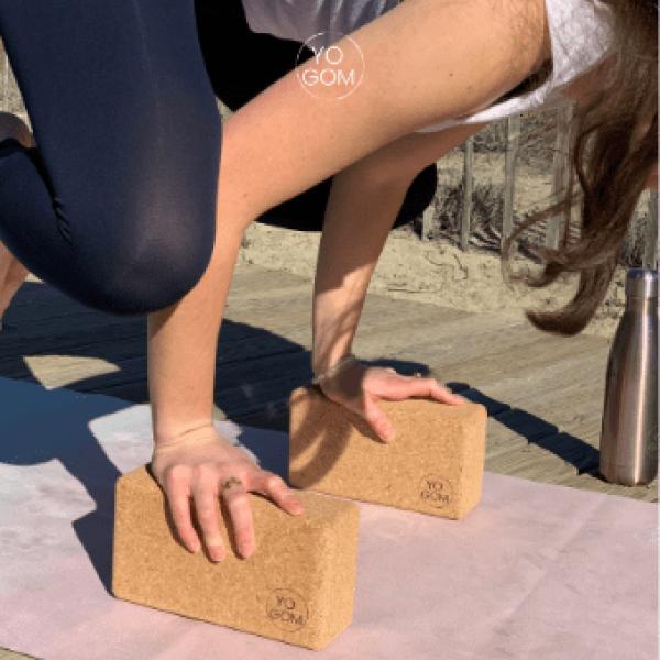 briques de yoga en liège du portugal Yogom