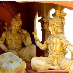 la bhagavad gita dialogue avant la bataille