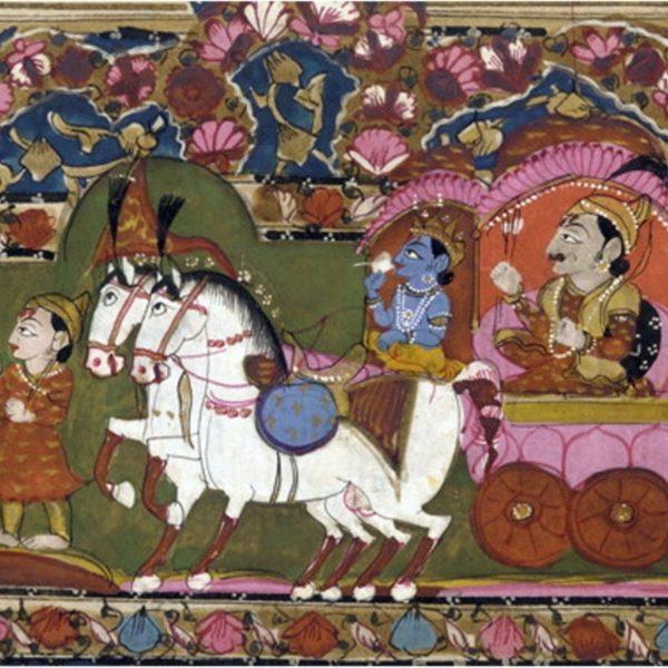 la bhagavad gita épopée de l'hindouisme