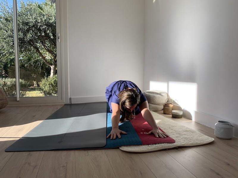 Tapis de yoga qui ne glisse pas Yogom