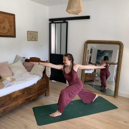 tapis de yoga star samadhi gold canard antidérapant