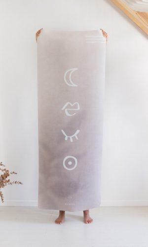 Tapis de yoga Rituel x Womoon