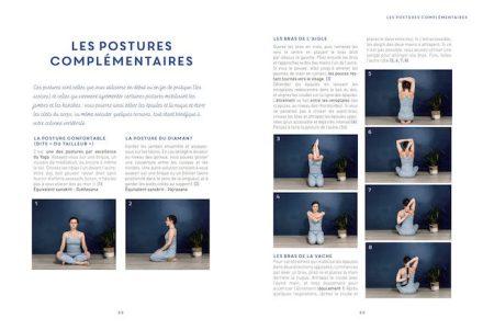 Livre yin yoga - extrait postures complémentaires