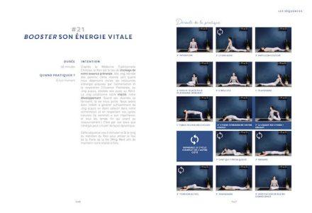 Livre yin yoga - extrait séquence