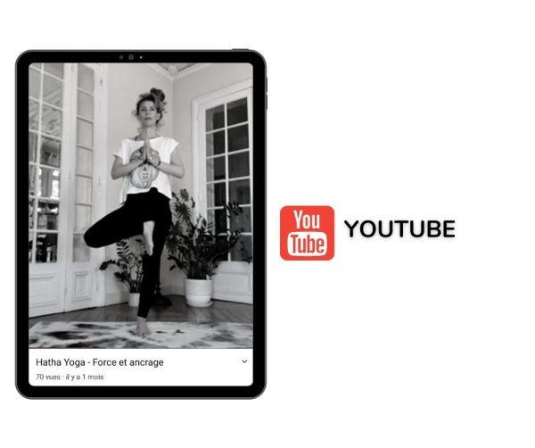 Cours de yoga en ligne youtube gratuit yogom