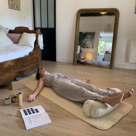 comment utiliser un bolster de yoga