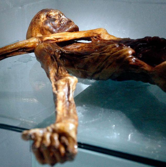 Grande découverte sur l'origine de la Médecine Traditionnelle Chinoise et l'histoire des méridiens grâce au squelette de la momie Otzi retrouvée tatouée qui révèle l'existence des méridiens bien avant les origines supposées chinoises