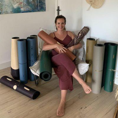 Mathilde Corbin, la fondatrice de Yogom : la marque française de matériel de yoga