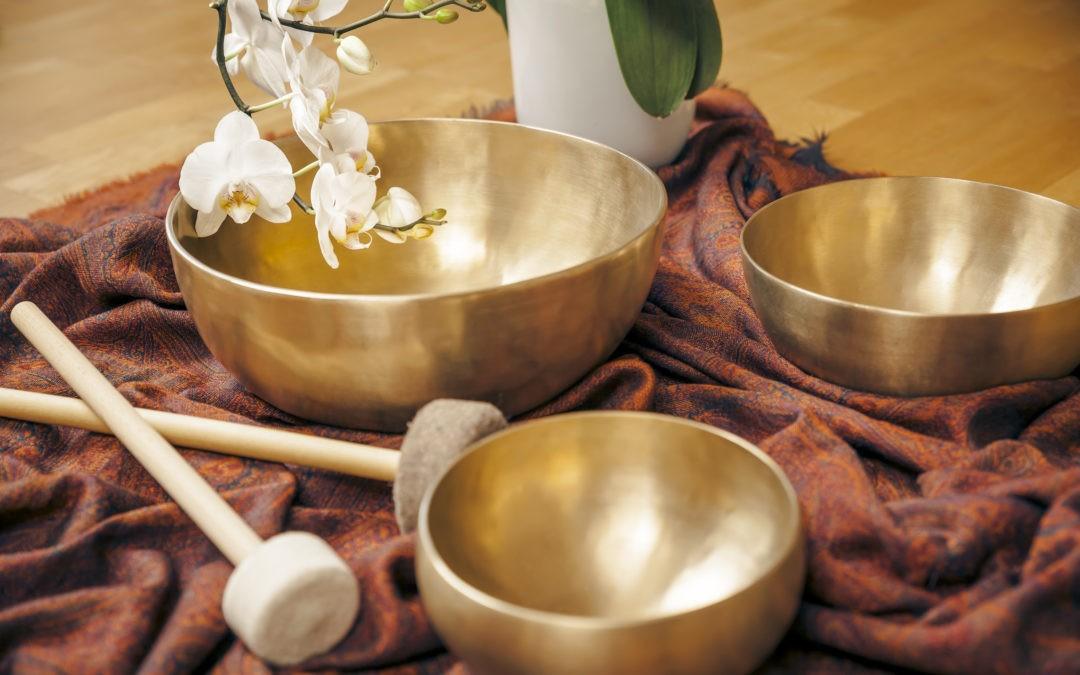 Compositions de bols tibétains pour yoga nidra